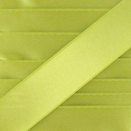 Luxery Satin Ribbon, double-sided - mustard green