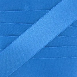 Luxery Satin Ribbon, double-sided - blue