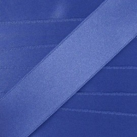 Luxery Satin Ribbon, double-sided - denim blue