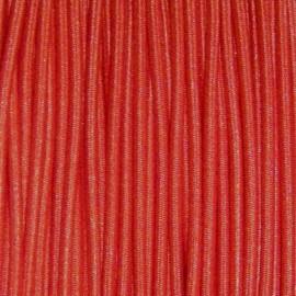 Fil élastique à chapeau 1.5mm rouge