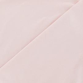 Tissu jersey uni Rose dragée x 10cm