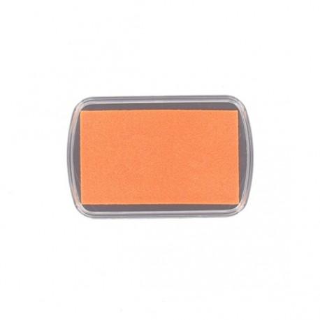 Textile ink pad - fluorescent orange