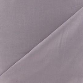 Tissu voile de coton parme x 10cm