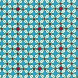 Tissu coton Petit Pan Hélium - bleu x 10cm