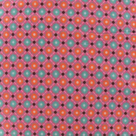 Tissu coton Piazza gris x 10cm