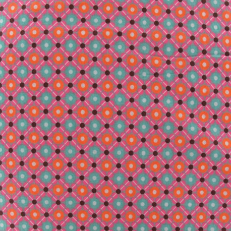 Fabric coton Piazza gris x 10cm