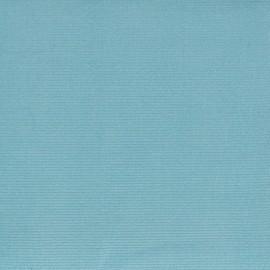 Tissu velours milleraies turquoise 300gr/ml x10cm