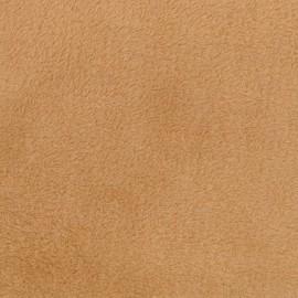 Tissu Doudou uni Sable x 10cm