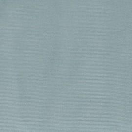 Tissu velours milleraies élasthanne vert sauge x10cm