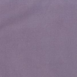 Tissu velours milleraies élasthanne parme x10cm