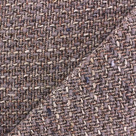 Tweed Metal fabric x 10cm