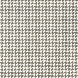 Tissu Tiny Houndstooth Dirt x 10cm