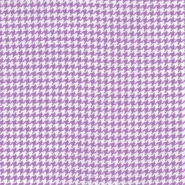Tissu Tiny Houndstooth Purple x 10cm