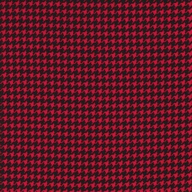 Tissu Tiny Houndstooth Red x 10cm