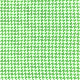 Fabric Tiny Houndstooth - Mint x 10cm