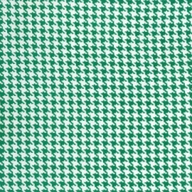 Fabric Tiny Houndstooth - Spearmint x 10cm