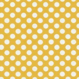 Tissu Ta Dot Mango x 10cm