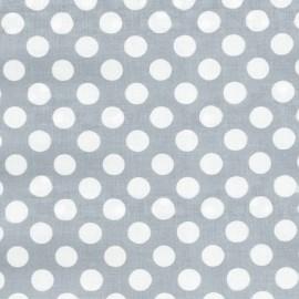 ♥ Coupon 30 cm X 110 cm ♥  Tissu Ta Dot Fog