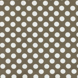 Fabric Ta Dot Dirt x 10cm