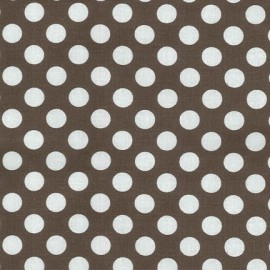 Fabric Ta Dot Taupe x 10cm