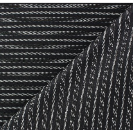Striped Tailor Fabric - Alphonse x 10cm