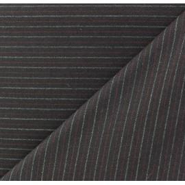 Striped Tailor Fabric - Hugo x 10cm
