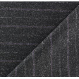 Striped Tailor Fabric - Oscar x 10cm