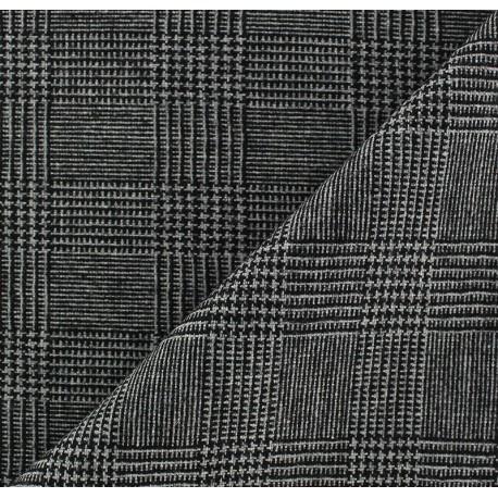Tissu tailleur rayures Oscar x 10cm