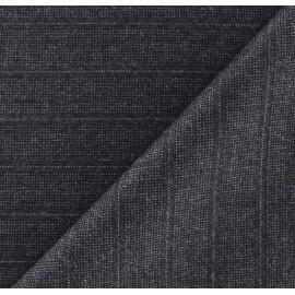 ♥ Coupon 20 cm X 156 cm ♥ Tissu tailleur rayures Jean-Paul