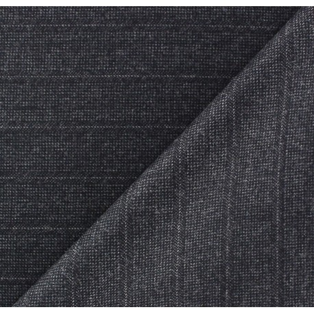 Striped Tailor Fabric - Jean-Paul x 10cm
