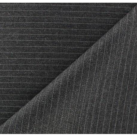Striped Tailor Fabric - Daniel x 10cm