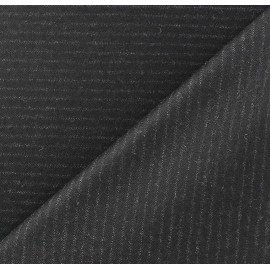 ♥ Coupon 170 cm X 150 cm ♥ Tissu tailleur rayures Marc