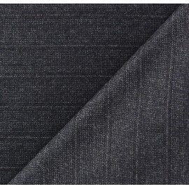 ♥ Coupon tissu 170 cm X 160 cm ♥ tailleur rayures Guy