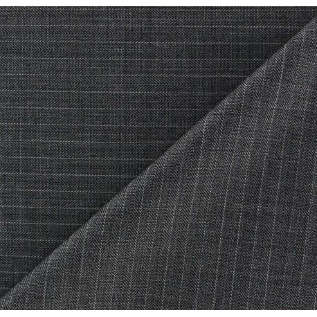 Tissu tailleur rayures François x 10cm