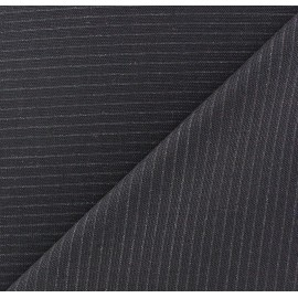 Striped Tailor Fabric - Paco x 10cm