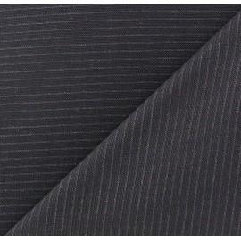 Tissu tailleur rayures Zuhair x 10cm