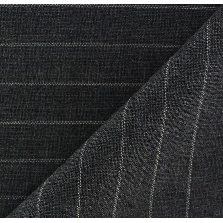 Tissu tailleur rayures Elie x 10cm