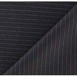 Striped Tailor Fabric - Robert x 10cm