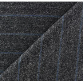 Tissu tailleur rayures Armand x 10cm