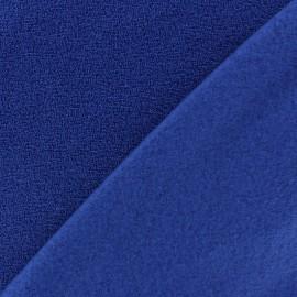 Tissu Polaire bouclée bleu roy x 10cm
