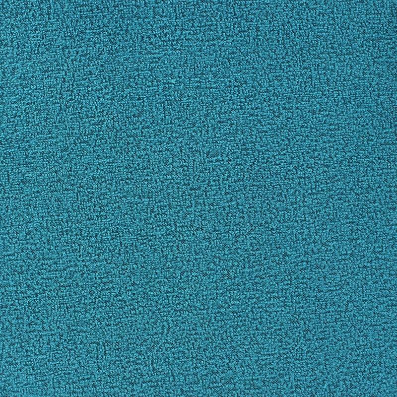 tissu polaire boucl e bleu canard x 10cm ma petite mercerie. Black Bedroom Furniture Sets. Home Design Ideas
