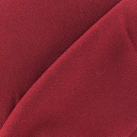 Tissu drap manteau carmin x 10cm