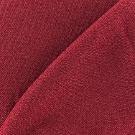 Tissu drap manteau violine x 10cm
