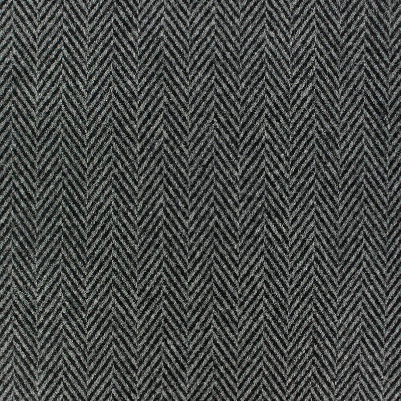 Tissus pas cher tissu drap manteau chevron noir et gris - Tissu pour drap ...