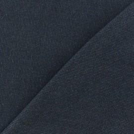 Tissu drap manteau chiné gris x 10cm