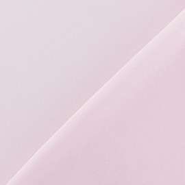 Tissu Mousseline rose dragée  x 50 cm