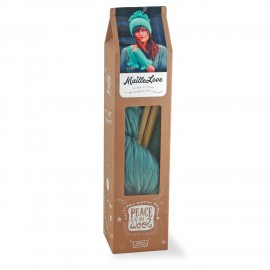 Maille Love knitting kit - summer sky blue