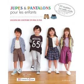"""Livre """"Jupes & pantalons pour les enfants"""""""