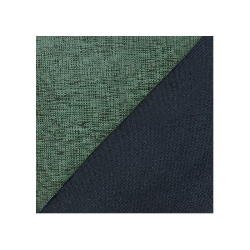 Tissus pas cher tissu su dine imprim effet enduit vert militaire - Tissu suedine pas cher ...