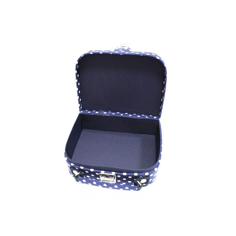 Petite bo te couture en tissu marine ma petite mercerie for Rangement materiel couture